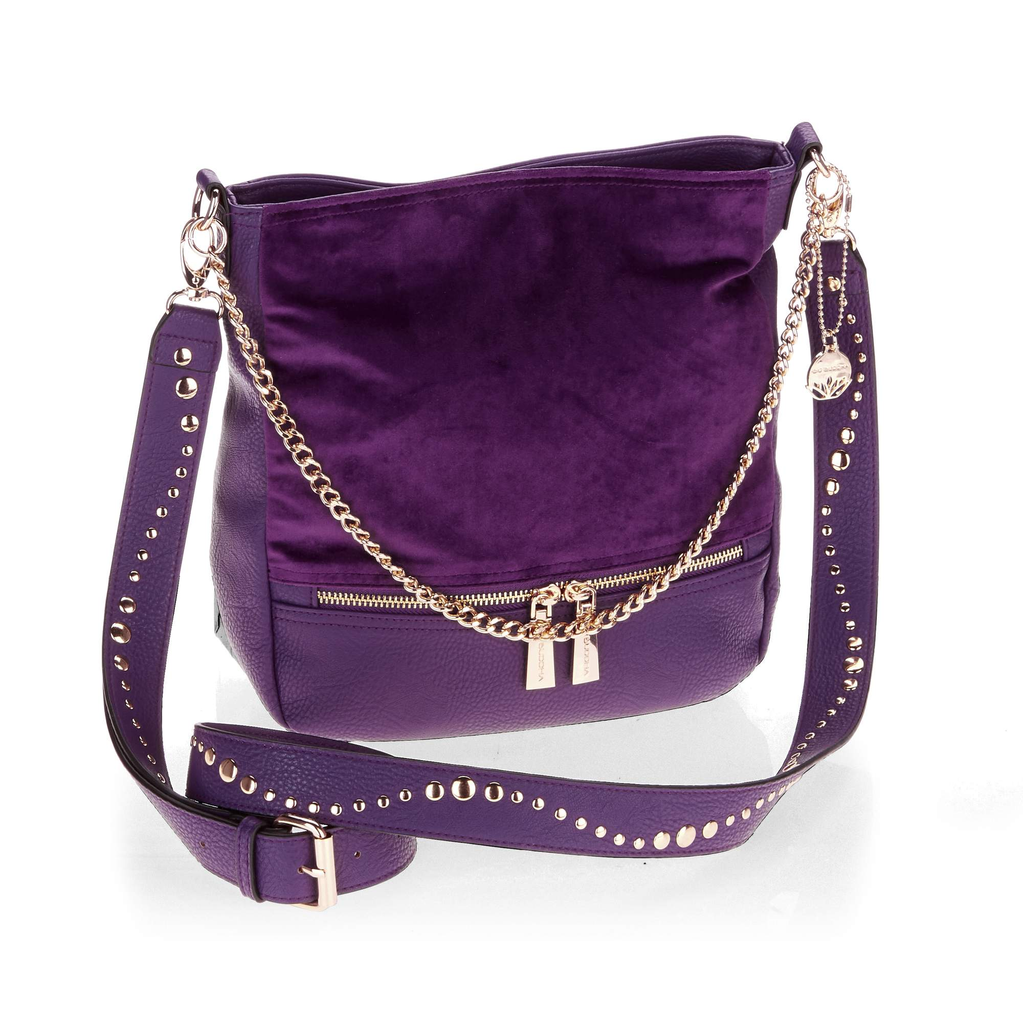 Big Buddha Women's Studded Strap Crossbody