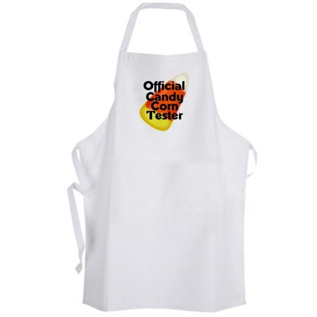 Aprons365 - Official Candy Corn Tester – Apron - Halloween Cute Funny Holiday (Halloween Cute Candy Corn)