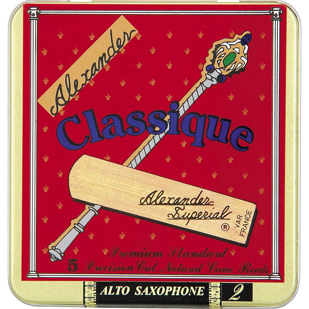Alexander Reeds Classique Alto Saxophone Reeds Strength 3