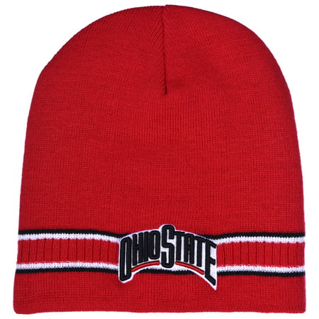Collegiate Headwear Ohio State Buckeyes Men's Dash Knit Beanie ()