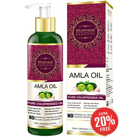 Morpheme Remedies Pure Amla Oil, 120 ml