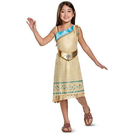 Child's Girls Deluxe Disney Pocahontas Dress Costume for $<!---->