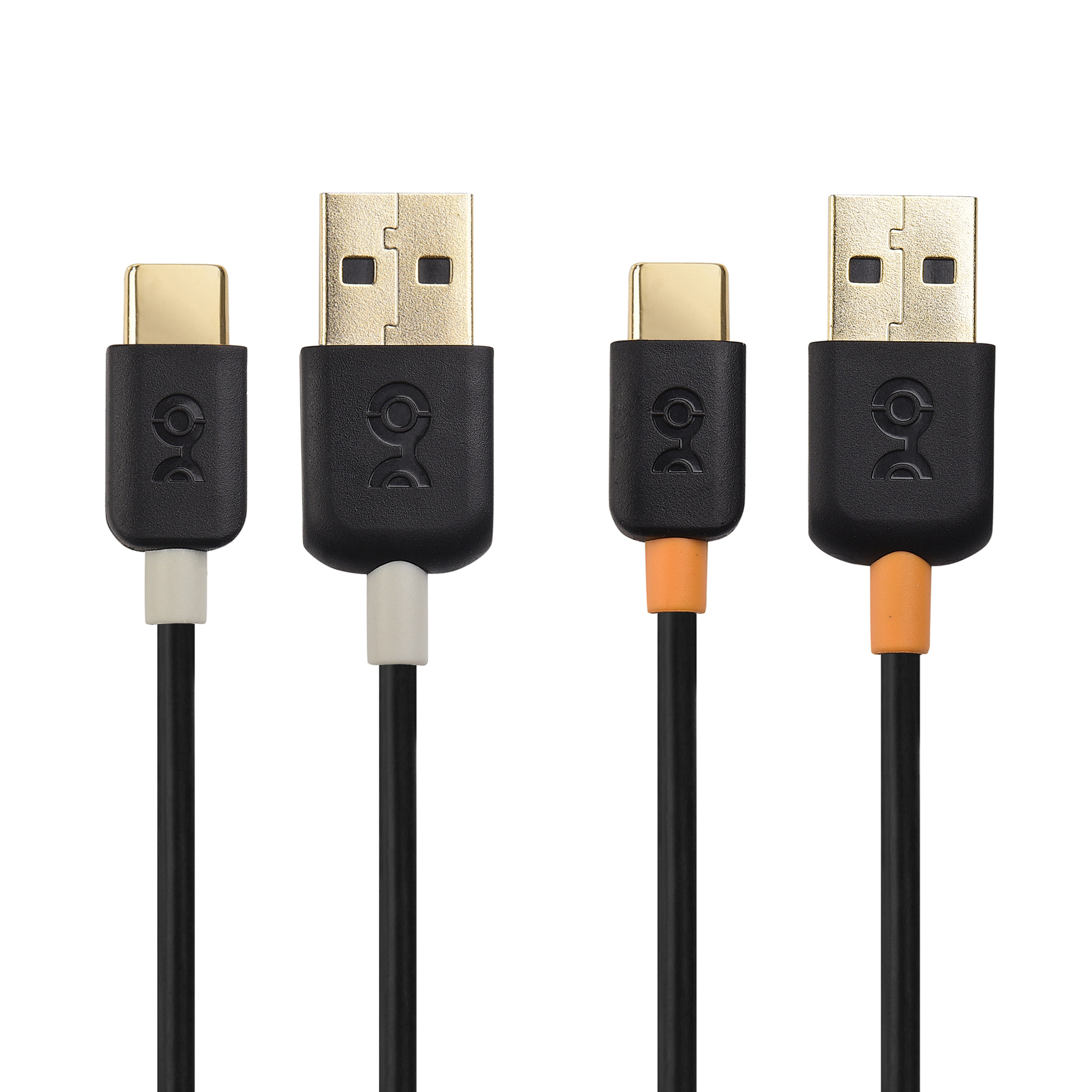Cable Matters 2-Pack USB-C Cable (USB A to USB C Cable / USB C to USB Cable) in Black 3.3 / 6.6 Feet for Samsung Galaxy S9/S8/Note 8, LG G6/V30, Nintendo Switch and More