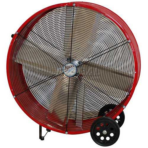 Ventamatic BF30DDRED 30 inch Red Direct Drive Barrel Fan