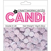 Candi Dot Printed Embellishments .35oz-Candy Floss Multi-Colored