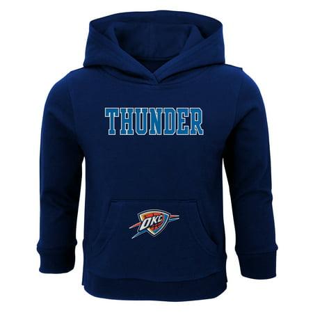online store 023dd 5c2eb Toddler Navy Oklahoma City Thunder Team Pullover Hoodie
