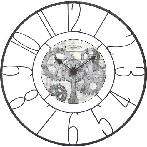 FirsTime Fulshaw Gears Wall Clock