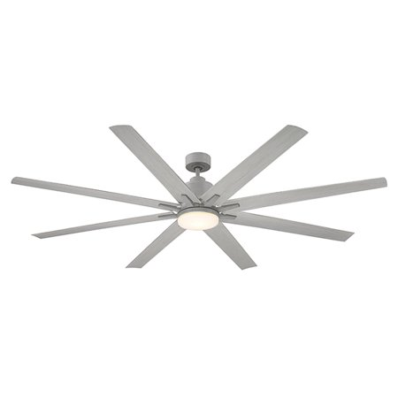 Classic Silver Ceiling Fan - Savoy House Bluffton 72 in. Indoor Ceiling Fan