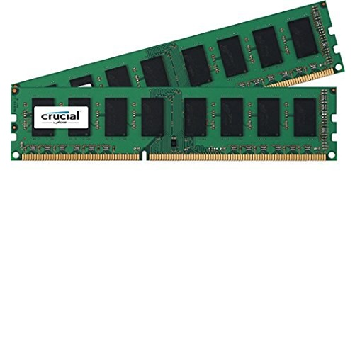 Crucial 8GB (2x4GB) DDR3 1866 MHz 1.35 V Non-ECC Unbuffered 240-pin DIMM Module