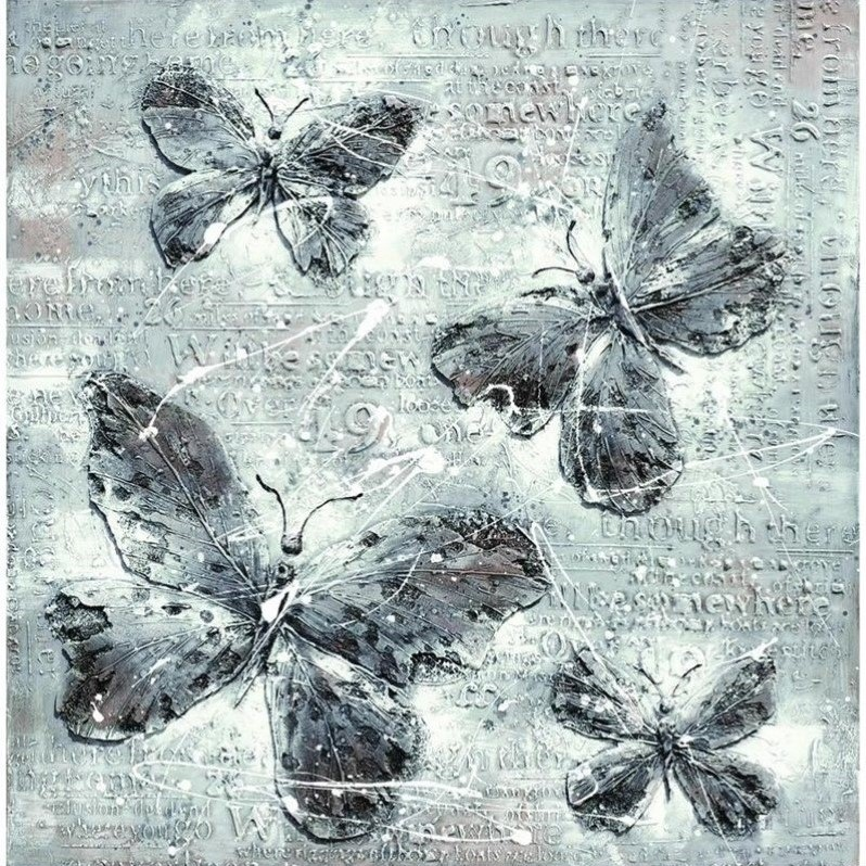 Yosemite Artwork - Butterfly Impressions