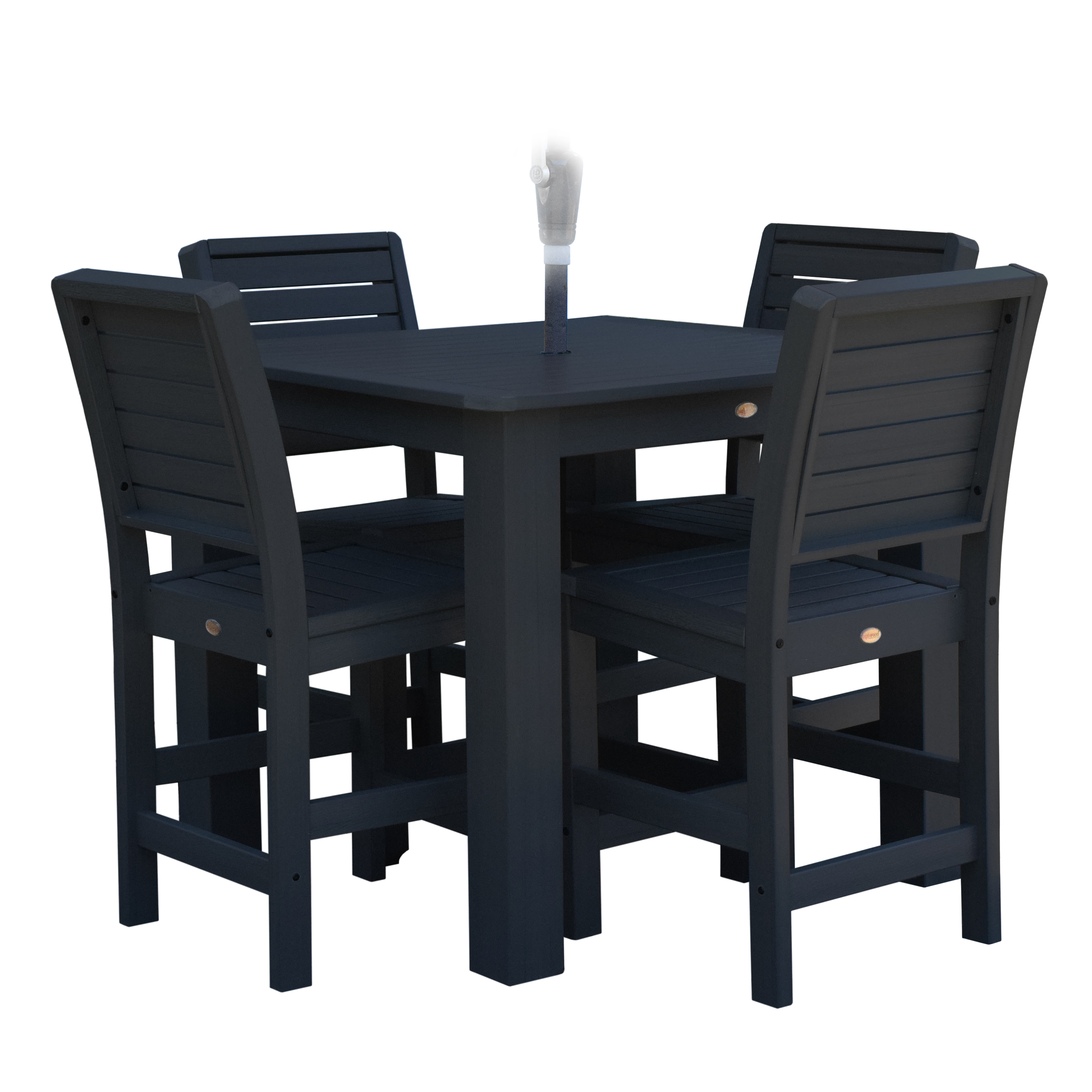 highwood® Eco-Friendly Weatherly 5pc Square Counter Dining Set