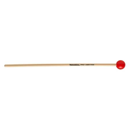 Innovative Percussion IP902 James Ross Series Medium Soft Red Mallets w/ Rattan Handles