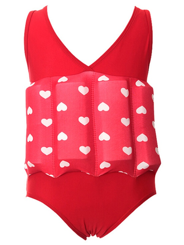 Swim Trainer for Kids, Coxeer One Piece Floating Swimwear Flotation Suit for Little Girls