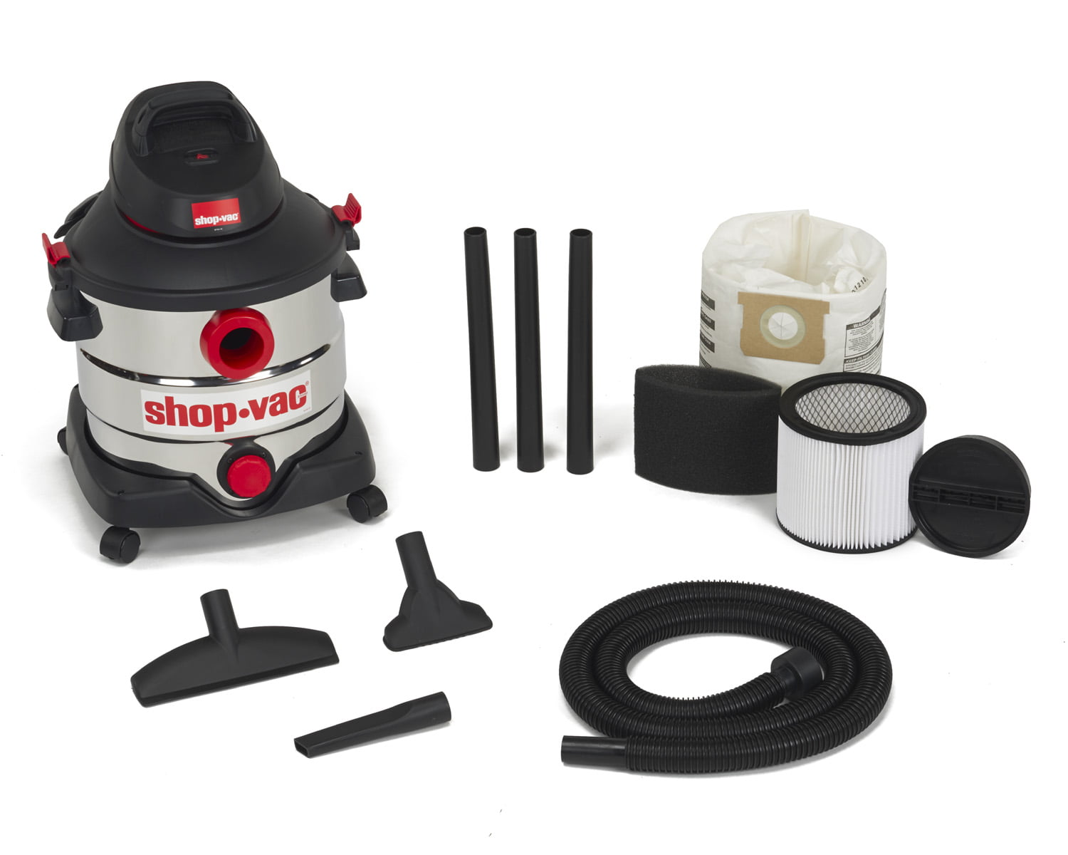 Shop-Vac 8 Gallon 6.0 Peak HP Stainless Steel 5989400 by Shop-Vac Corporation