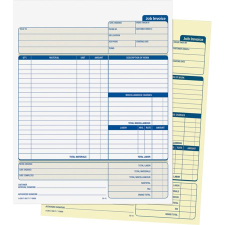 Adams - Unit Invoice - 100 Set