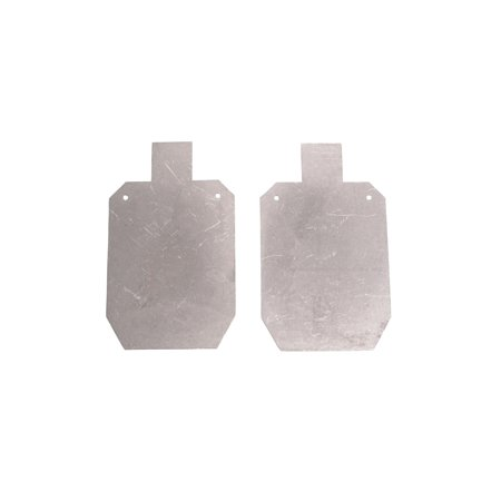 Titan Great Outdoors™ Pair of AR500 Silhouette Steel Plate Shooting Targets 20