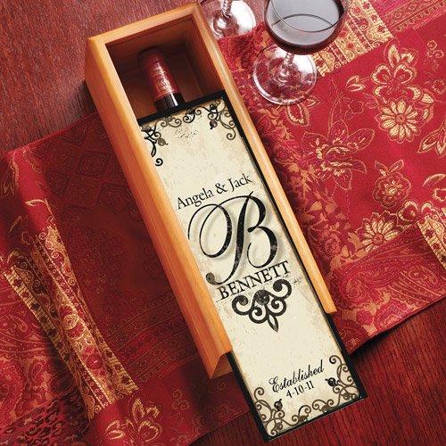 Personalized Decorative Wine Box
