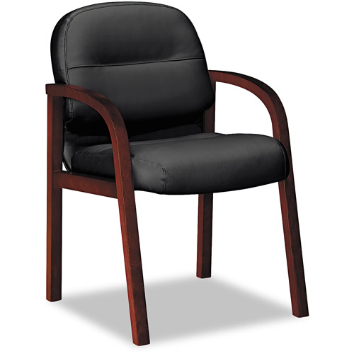 HON 2190 Pillow-Soft Wood Series Guest Arm Chair