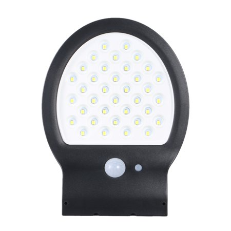 DC3.7V 1.6W 38 LED Solar Power Energy PIR Motion Sensor Human Infrared Sensor Detector Technology Sensitive Light Control Three Lighting Modes IP54 Water-resistant Outdoor Wall Mounted Light Built in - image 7 of 7