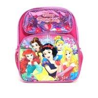 "Disney Princess Cinderella Belle Aurora Rapunzel 12"" Toddler Small Backpack"