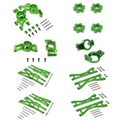 Traxxas X-Maxx Ultimate Alloy Upgrade Kit by Atomik RC - Green