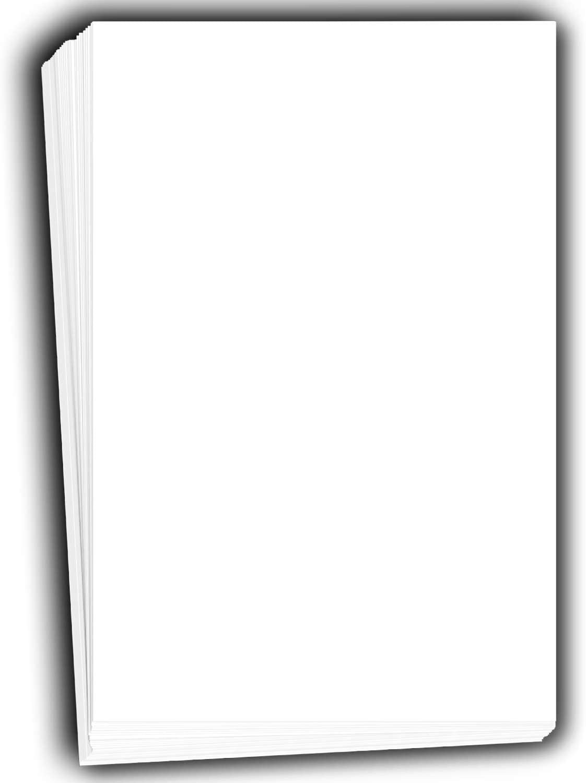 hamilco white cardstock thick 11x17 paper 120 lb cover
