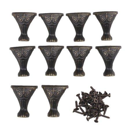 Departments - BQLZR Antique Bronze Decorative Feet Leg Corner Protector For