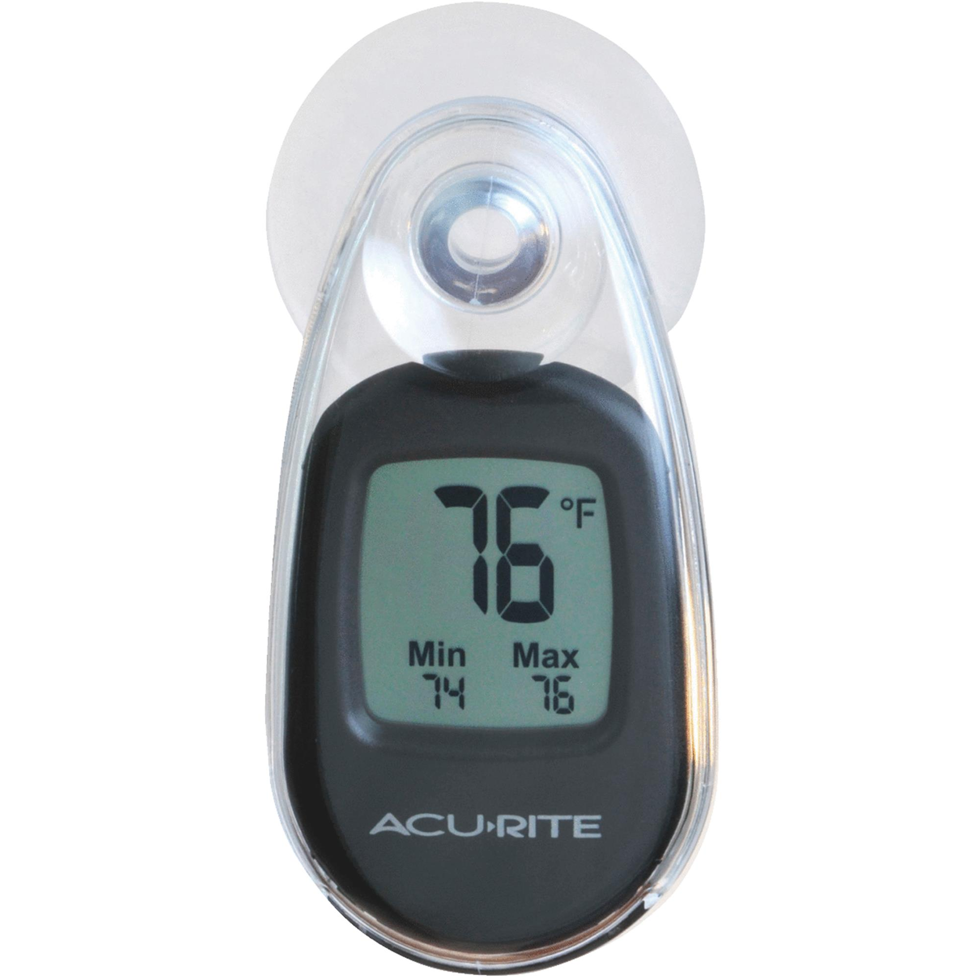 Acu-Rite Suction-Cup Window Indoor & Outdoor Thermometer by AcuRite