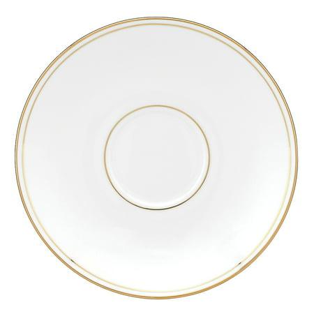 Federal Gold Bone China Saucer Lenox Federal Gold Fine Dinnerware, Fast
