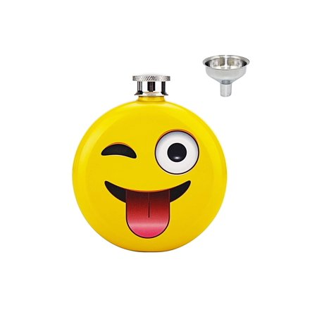 Emoji 5 oz. Flask for Adults - image 2 of 2