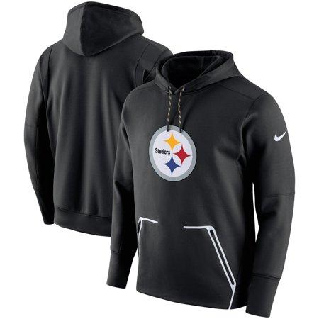 promo code 1dae5 595a8 Pittsburgh Steelers Nike Champ Drive Vapor Speed Pullover Hoodie - Black