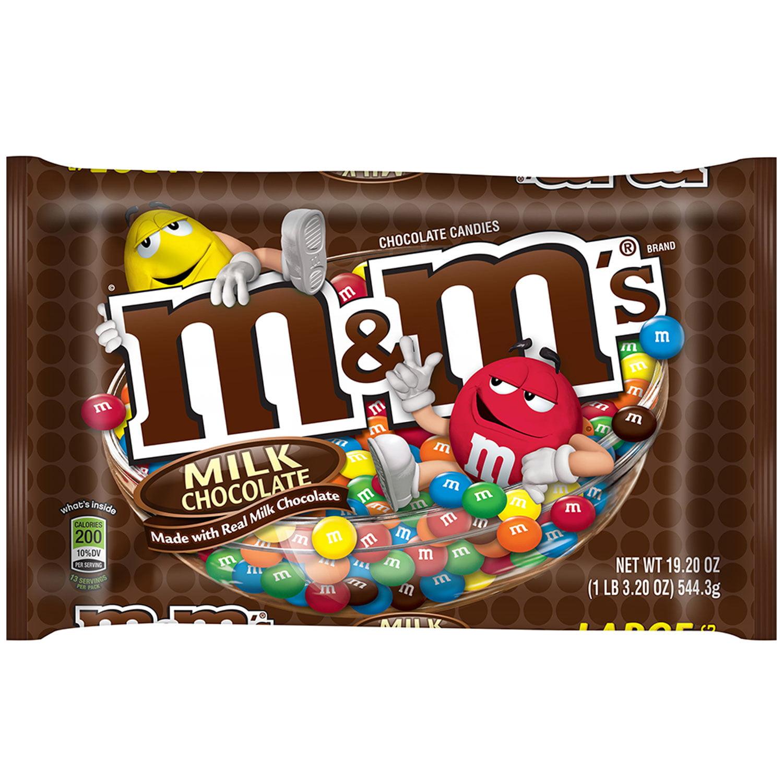 M S Milk Chocolate Candy 19 2 Oz