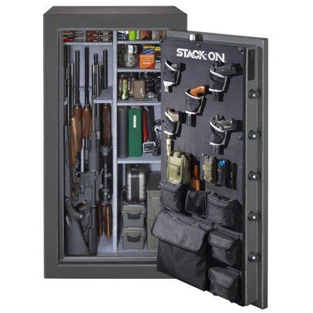 Stack-On 40-Gun Total Defense Fire Resistant Waterproof Safe, Electronic Keypad