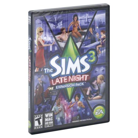 Sims 3 Late Night Expansion Pack (PC)