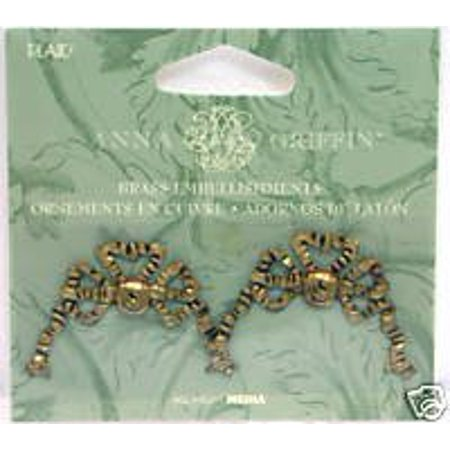 Brass Embellishments - Bows, Add elaborate elegance to all you paper crafting projects! By Anna - Anna Griffin Bows