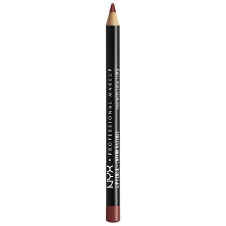 Pack of 4-NYX Professional Makeup Lip Liner Pencil, Auburn 801 1.0 ea