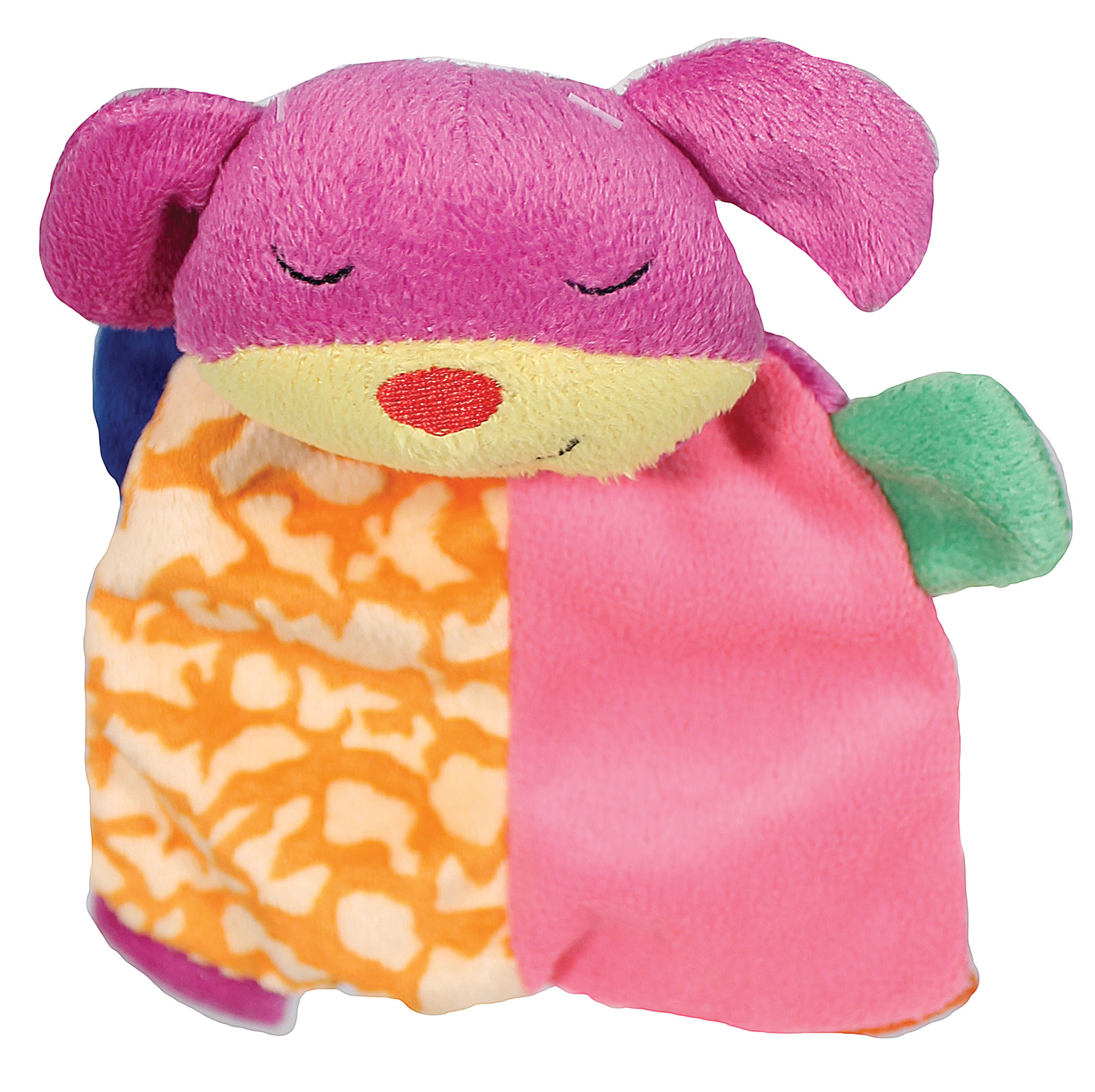 Ethical Dog-Lil Spots Plush Blanket Dog Toy- Assorted 7 In