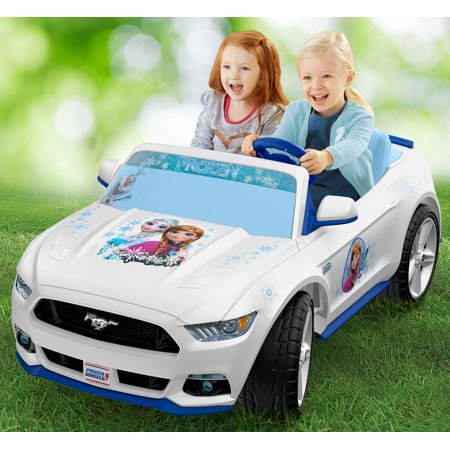 Fisher price power wheels frozen smart drive mustang for Motorized cars for 10 year olds