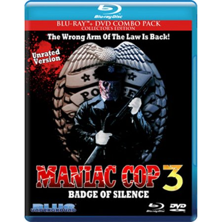 Maniac Cop 3: Badge Of Silence (Blu-ray)