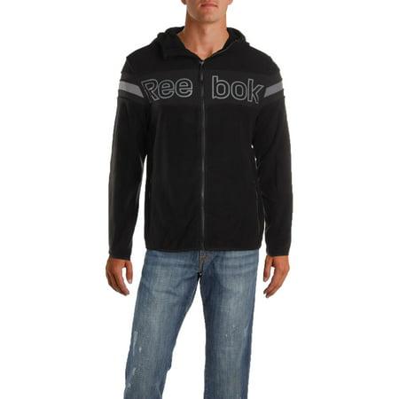 Reebok Mens Fall Polar Fleece Soft Shell Jacket