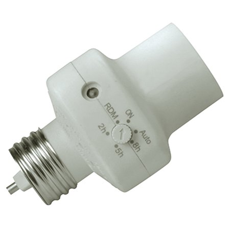 - Woods 59406 Screw-In Indoor Socket Light Control with Programmable Timer, Energy Savings