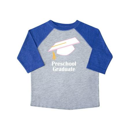 Preschool Graduate PreK School Graduation Toddler T-Shirt (Preschool Graduation Caps)
