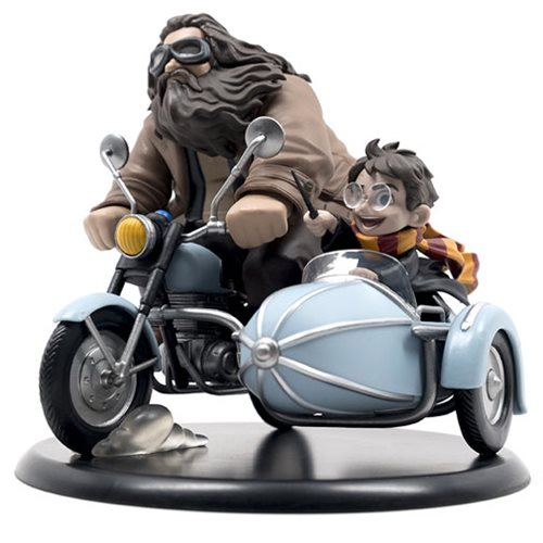 Harry Potter and Rubeus Hagrid Limited Edition Q-Fig Max by