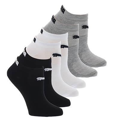 Puma 2 Pack AllSport Crew Socks White//Gray Women/'s Shoe Size 4-10.5 NEW!
