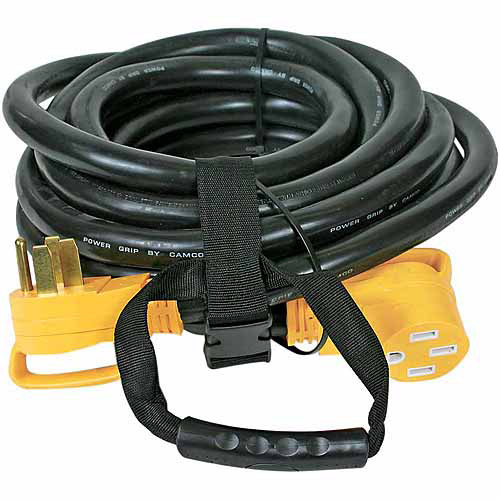 Camco RV 30' 50-Amp PowerGrip Extension Cord