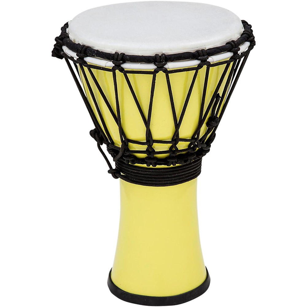 Toca Freestyle ColorSound Djembe Pastel Yellow 7 in. by Toca