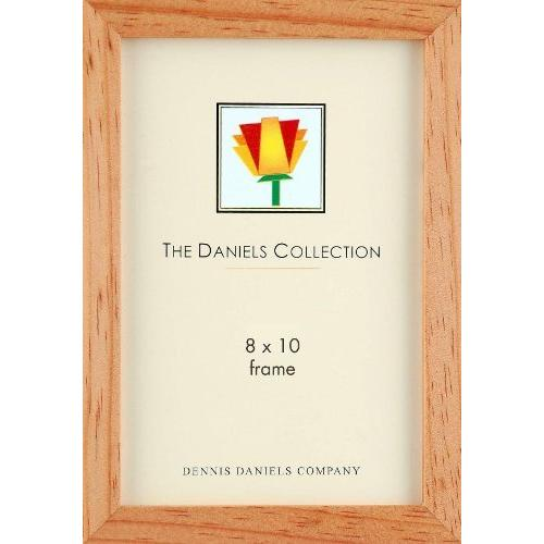 "Dennis Daniels Essential Gallery Wood Molding Standard Frame 8"" x 10"" , Natural"