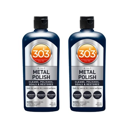 303 Products 12 Ounce Scratch Resistant Shine & Restoration Polish (2