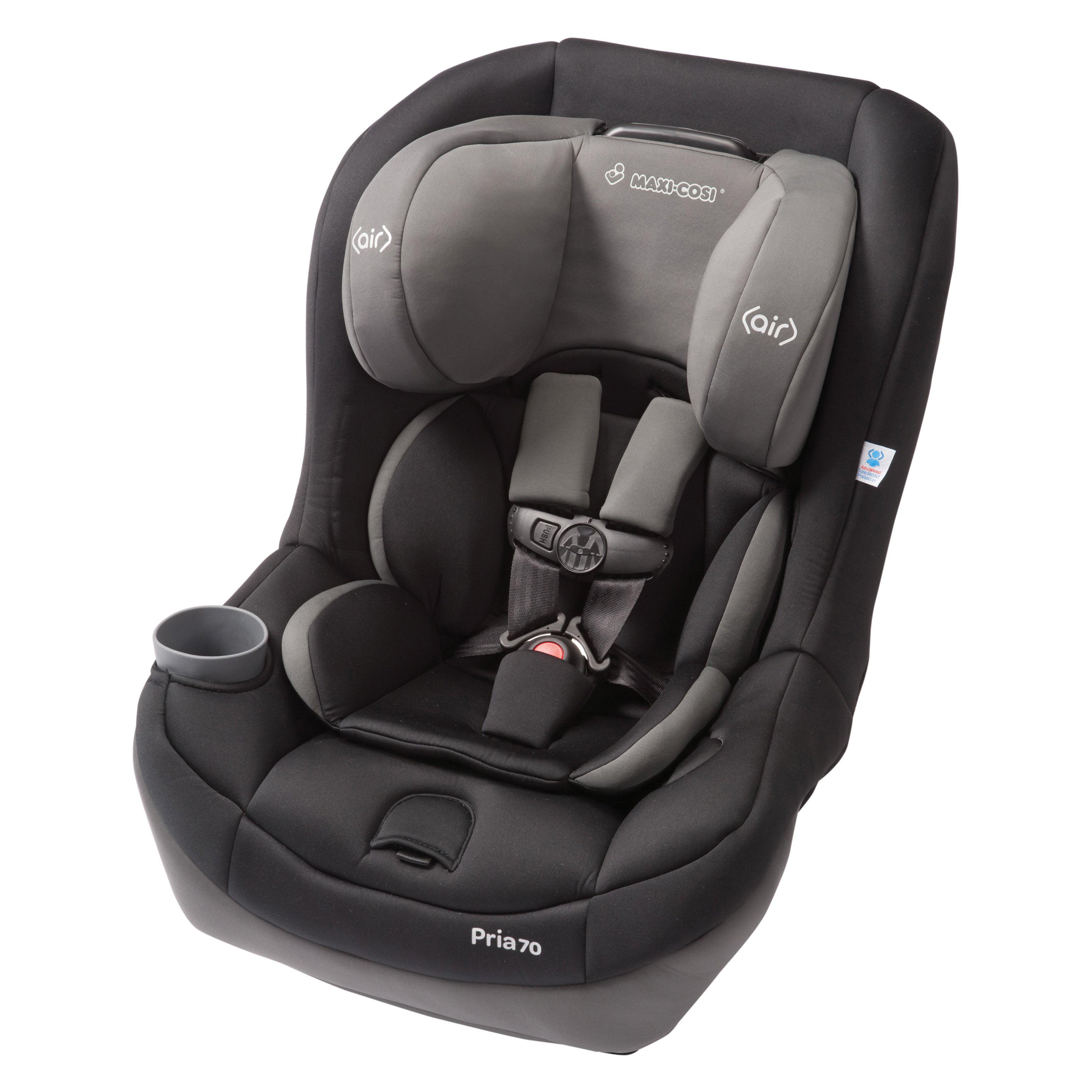 Maxi-Cosi Pria 70 Convertible Car Seat-Total Black
