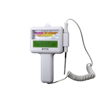 Spa Down Ph Reducer - Battery Operated Chlorine and PH Water Quality Tester for Pool and Spa